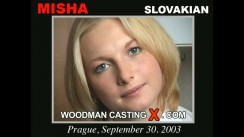 Look at Misha getting her porn audition. Erotic meeting between Pierre Woodman and Misha, a Slovak girl.