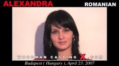 Download Alexandra casting video files. Pierre Woodman undress Alexandra, a Romanian girl.