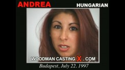 Watch our casting video of Andrea. Erotic meeting between Pierre Woodman and Andrea, a Hungarian girl.